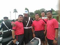 Denpom l/l Pematang Siantar Laksanakan Pemeriksaan Ranmor Di Makorem 022/PT