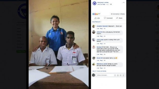 Terharu Kak, Karena Cinta Indonesia Lihat Apa Yang Dilakukan Guru Timor Leste Ini