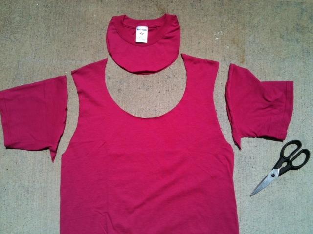 Crafty Soccer Mom: No Sew T-Shirt Tote Bag