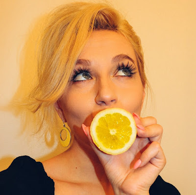 وصفات الليمون البشرة الدهنية