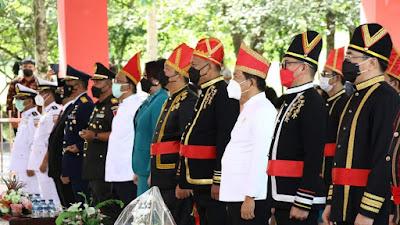Dipimpin Presiden Joko Widodo, Gubernur Olly Ikut Upacara Hari Lahir Pancasila Secara Virtual