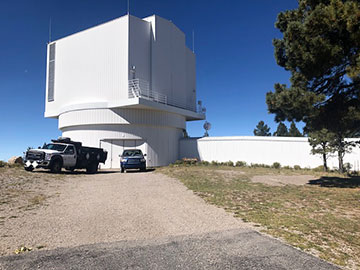 Astrophysical Research Consortium 3.5-meter telescope at Apache Point (Source: Palmia Observatory)