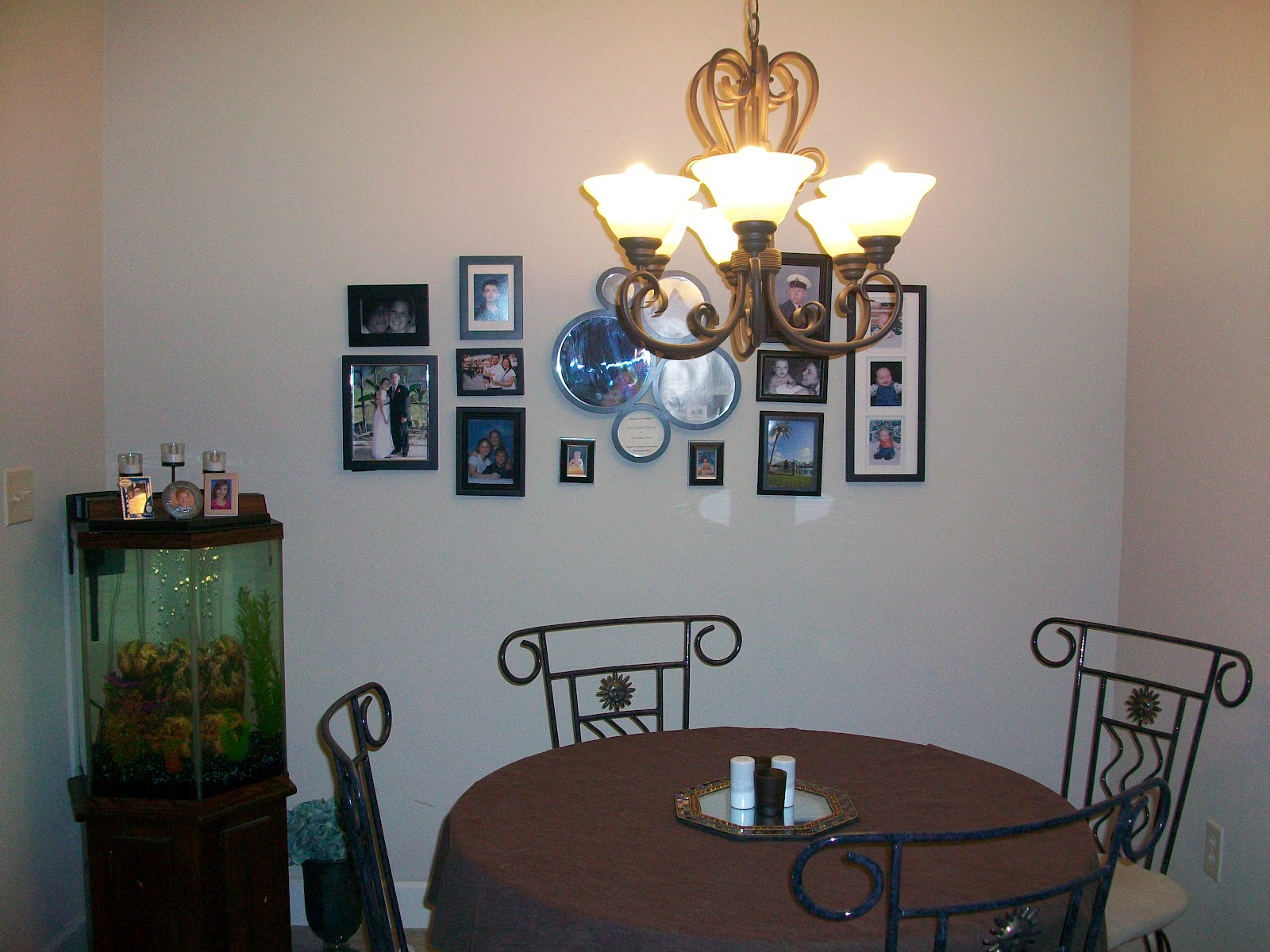 Quick Fix Raising A Light Fixture, How To Raise A Dining Room Table