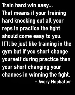 Quotes About Train Hard