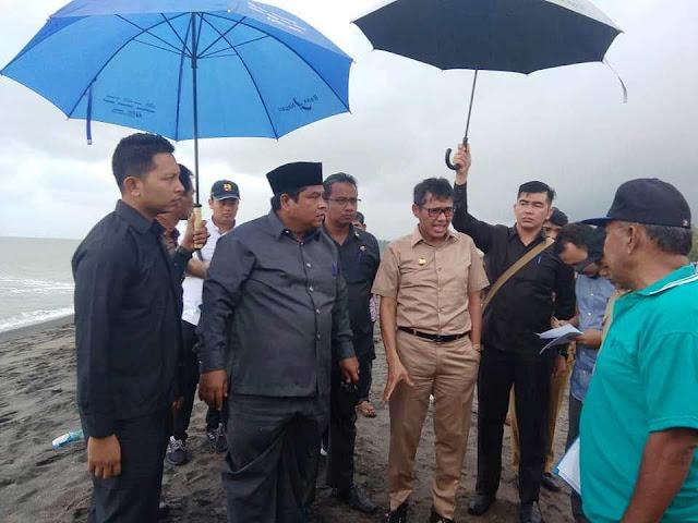 28 KK Mengungsi Akibat Abrasi di Ulakan dan Pasir Baru, Ini Tindakan Gubernur
