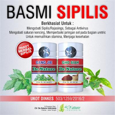 obat sifilis deherbal