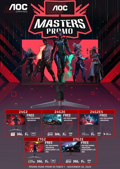 AOC Masters Valorant Tournament and Promo G2 Monitors Promo