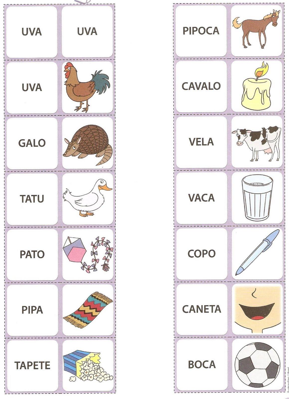 Blog da tia jaque domin de palavras para alfabetizar for C m r bagnolet