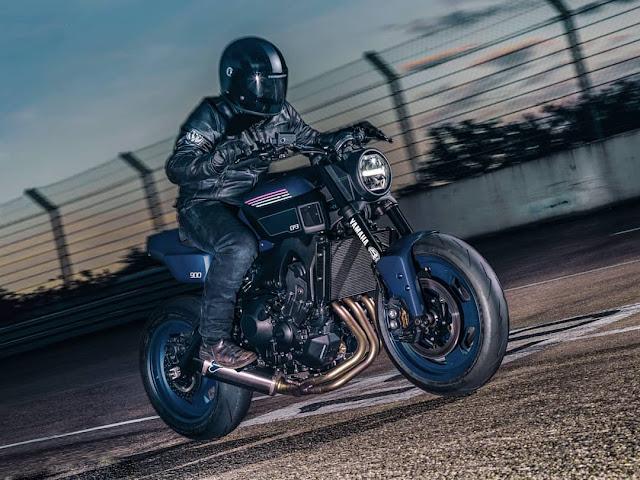 Yamaha XSR900 By JvB Moto Hell Kustom