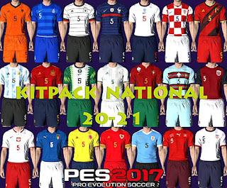 Images - PES 2017 National Teams 2020/2021 Kitpack V1 AIO