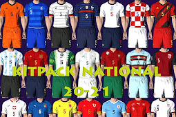 National Teams 2020/2021 Kitpack V1 AIO - PES 2017