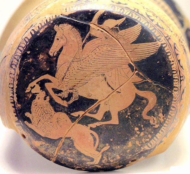Bellerophon and the Chimera