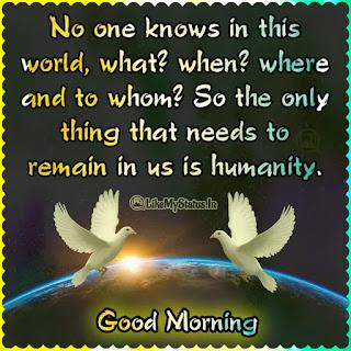 Good morning quote english