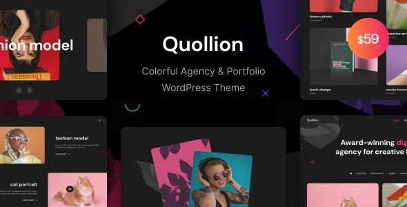 Best Colorful Agency & Portfolio WordPress Theme