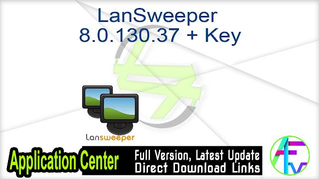 LanSweeper 8.0.130.37 + Key