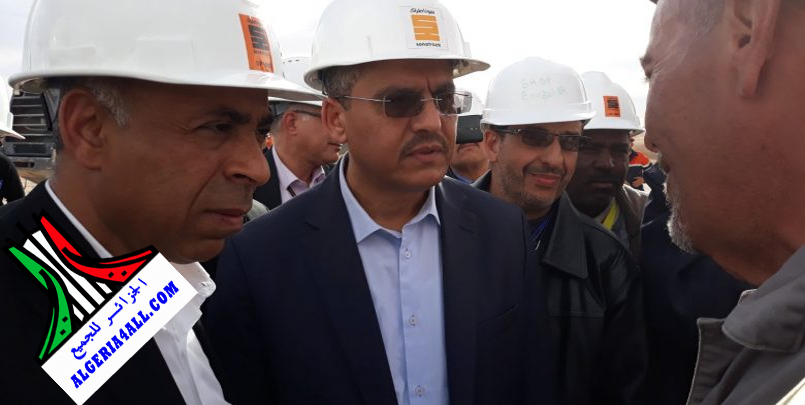 صور توفيق حكار المدير العام لشركة سوناطراك