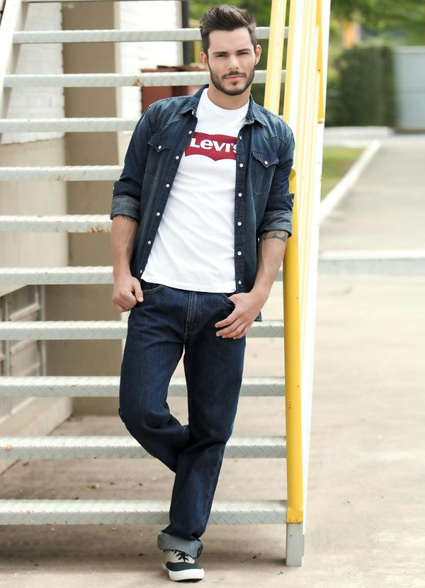 Look Masculino Levis