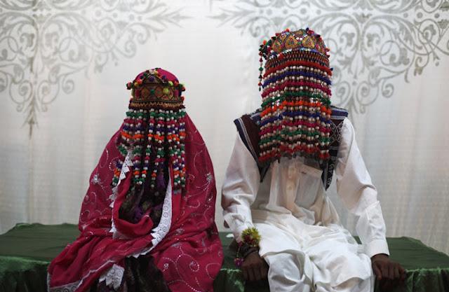 فستان الزفاف التقليدي في باكستان