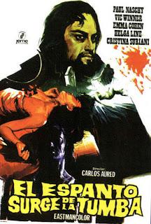 Carlos Aured y Paul Naschy en esta emblematica película
