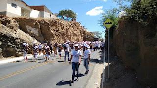 CEOP realizou em Picuí 7ª caminhada da paz, pelo fim da violência contra a mulher