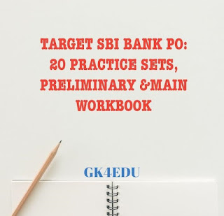 TARGET SBI BANK PO: 20 PRACTICE SETS, PRELIMINARY & MAIN WORKBOOK