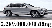 Giá xe Mercedes GLC 300 4MATIC 2018