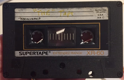 Audio Cassette 1980's Mix Tape