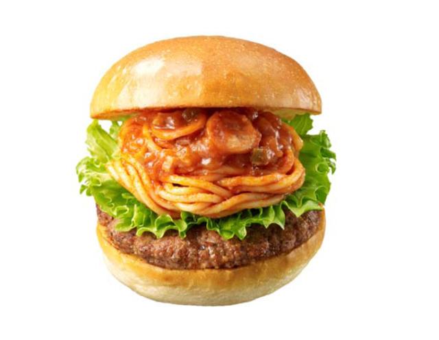 Around the World - Japanese Burger Chain Offers Spaghetti ...