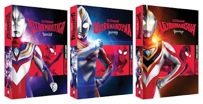 Mill Creek Announces Ultraman Tiga, Dyna, & Gaia North American DVD Releases