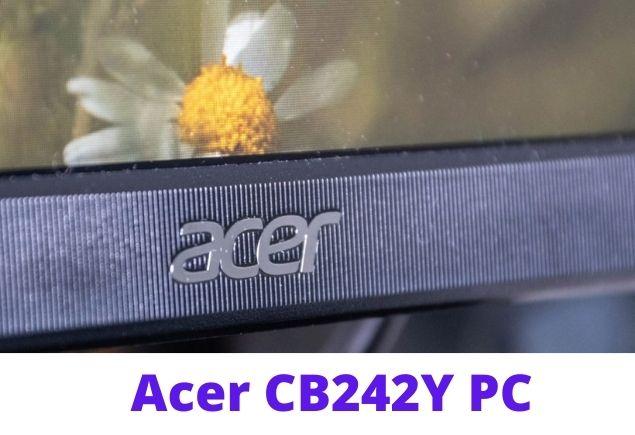 acer CB242Y via HDMI