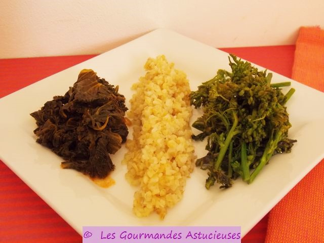 Les gourmandes astucieuses cuisine v g tarienne bio saine et gourmande faite maison des - Comment cuisiner le choux fleur ...