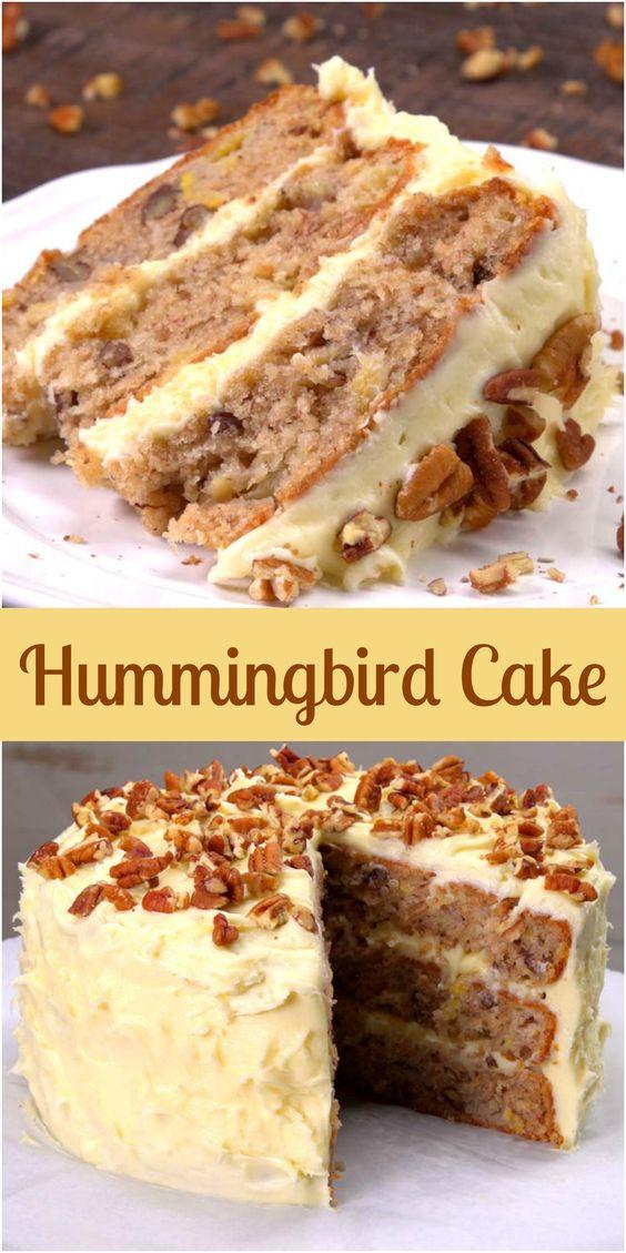 Hummïngbïrd Cake Recïpe
