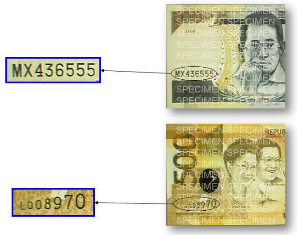 List of Security Features of Banknotes and Coins Philippines