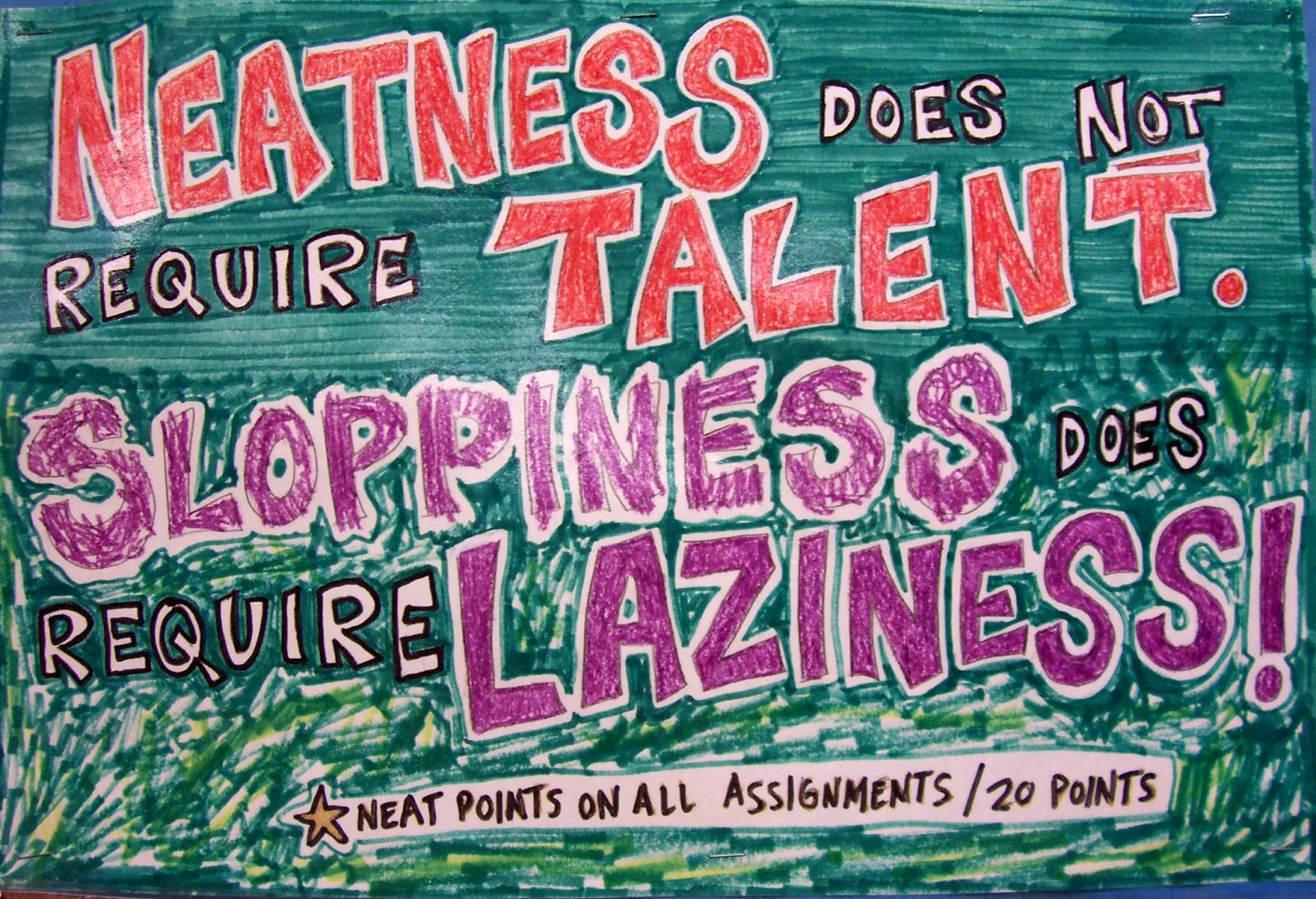 Amazing Art Class Posters For Materials