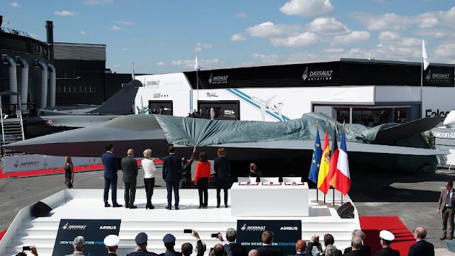Dassault và Airbus SE trình làng chiến đấu Cơ thế hệ mới tại triển lãm Hàng không Paris Air Show