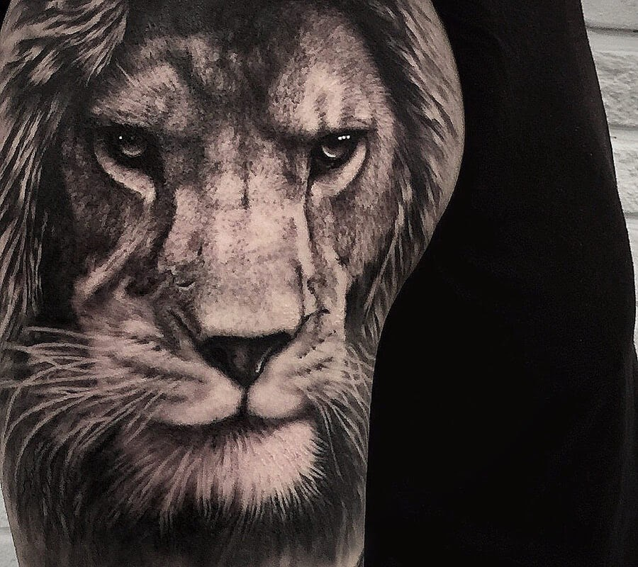 06-Lion-serious-look-tattoo-Saketattoocrew-www-designstack-co