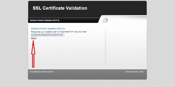 cara verifikasi ssl certicat dari comodo penyedia layanan ssl