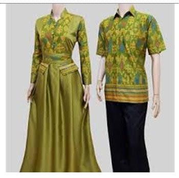 Model Baju Batik Untuk Keluarga