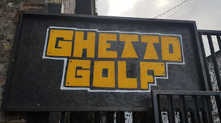 Ghetto Golf at the Custard Factory in Birmingham
