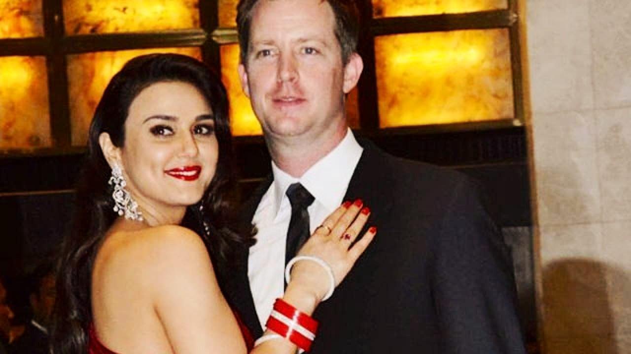 "Actors Gossips: Preity Zinta shares ""Diwali selfie"" with ""Pati Parmeshwar"" Gene Goodenough"