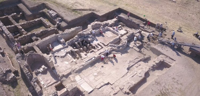 New structure found in Metropolis excavations