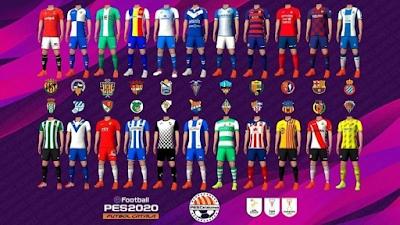 PES 2020 PS4 Option File Lliga Catalana