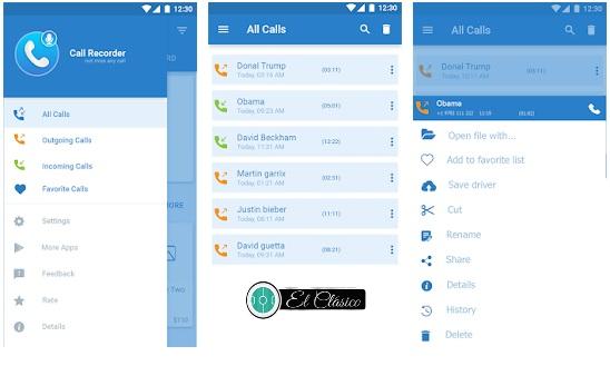 تنزيل برنامج وتطبيق Auto Call Recorder اوتو كول ريكوردر لتسجيل المكالمات مجانا لهواتف الاندرويد برابط مباشر من متجر بلاي ، تسجيل المكالمه