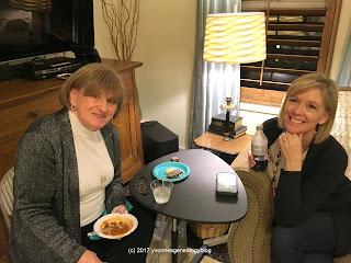 Peggy Lauritzen and Cheri Passey