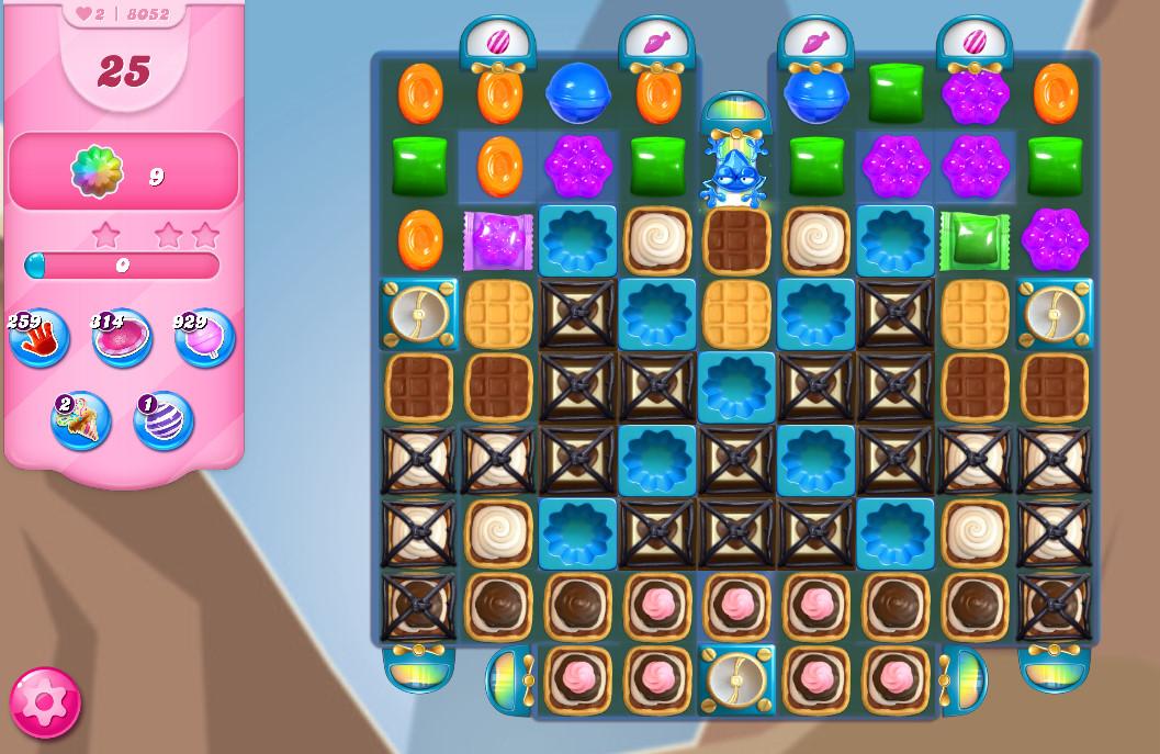 Candy Crush Saga level 8052