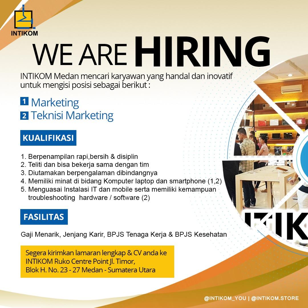 Info Loker Medan Terbaru di INTIKOM Medan - MedanLoker.Com ...