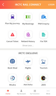 Steps To Book Online Train Tickets Through IRCTC App: