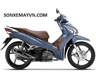 Bán Sơn xe máy HONDA FUTURE lịch lãm