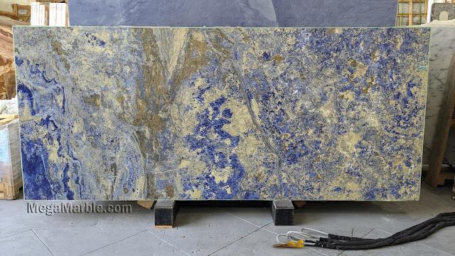 2cm Sodalite Blue Granite Slabs