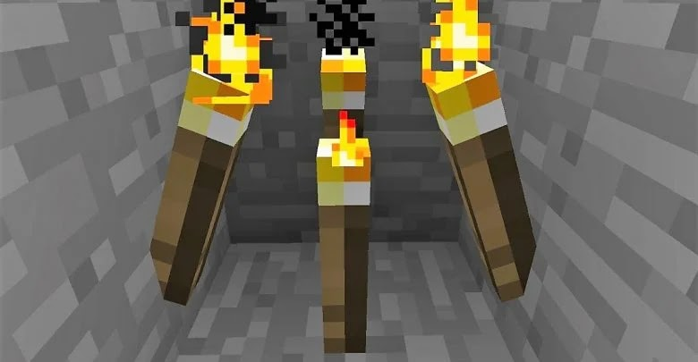 How to make torches in Minecraft